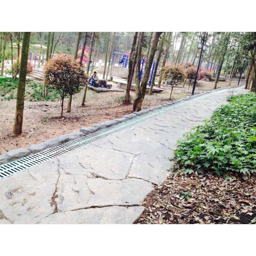园林道路井盖案例