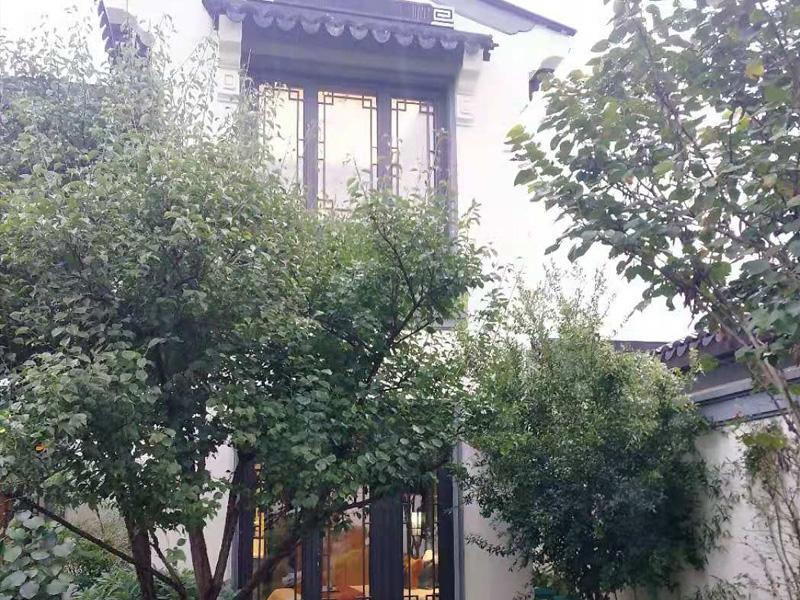 郑州仿古铝门窗实景展示