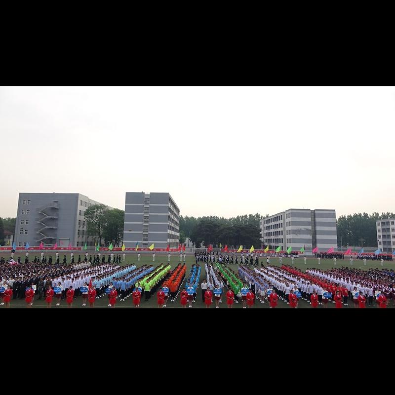学校运动会开幕式