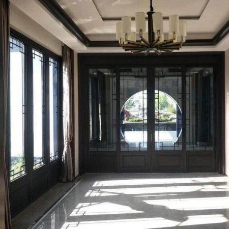平顶山中式铝门窗定制