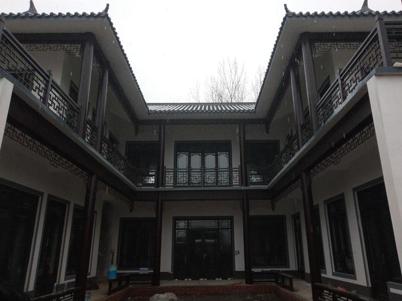 河南中式仿古铝门窗